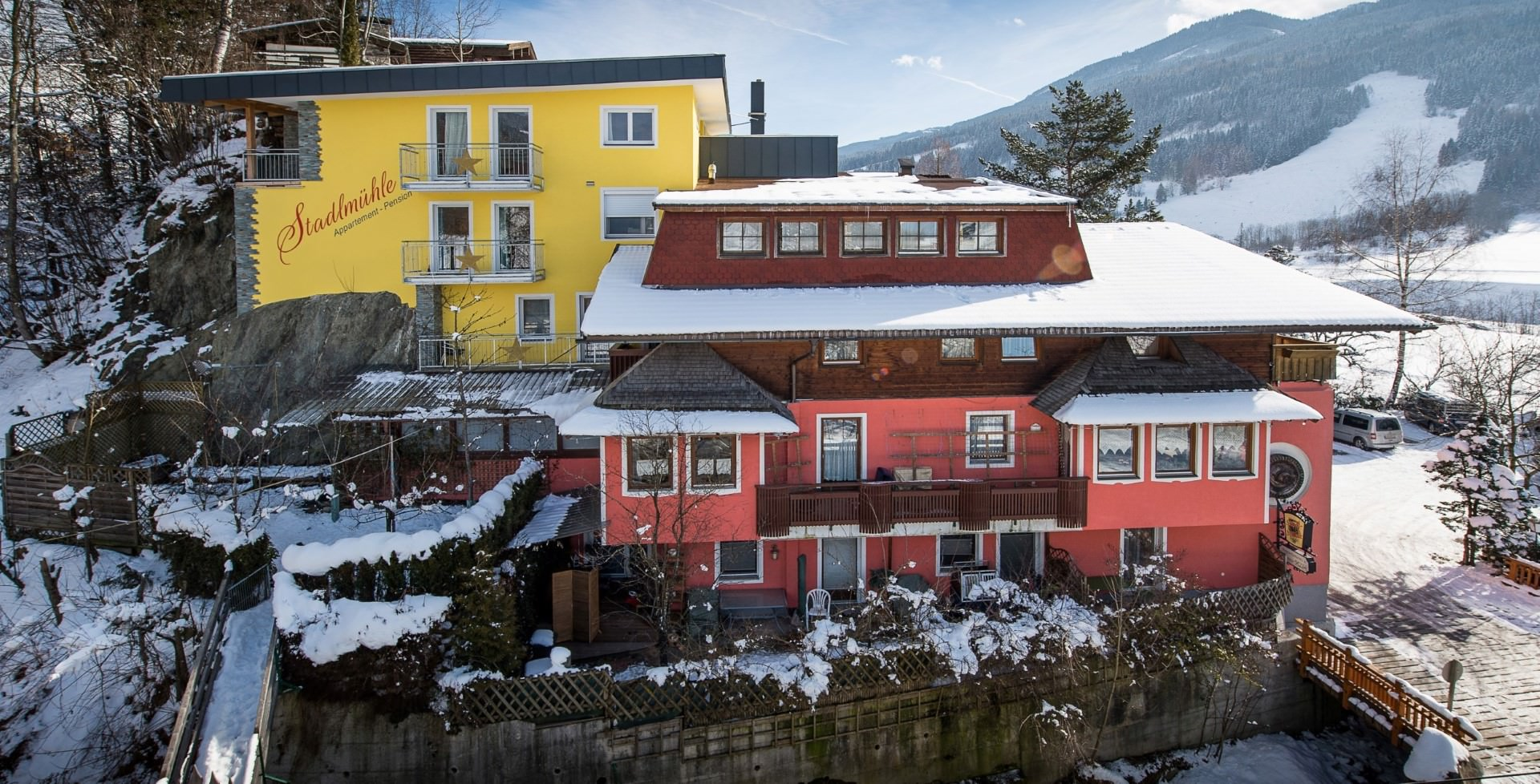 Appartement-Pension Stadlmühle in Bruck am Großglockner, Appartement-Pension Stadlmühle / Österreich
