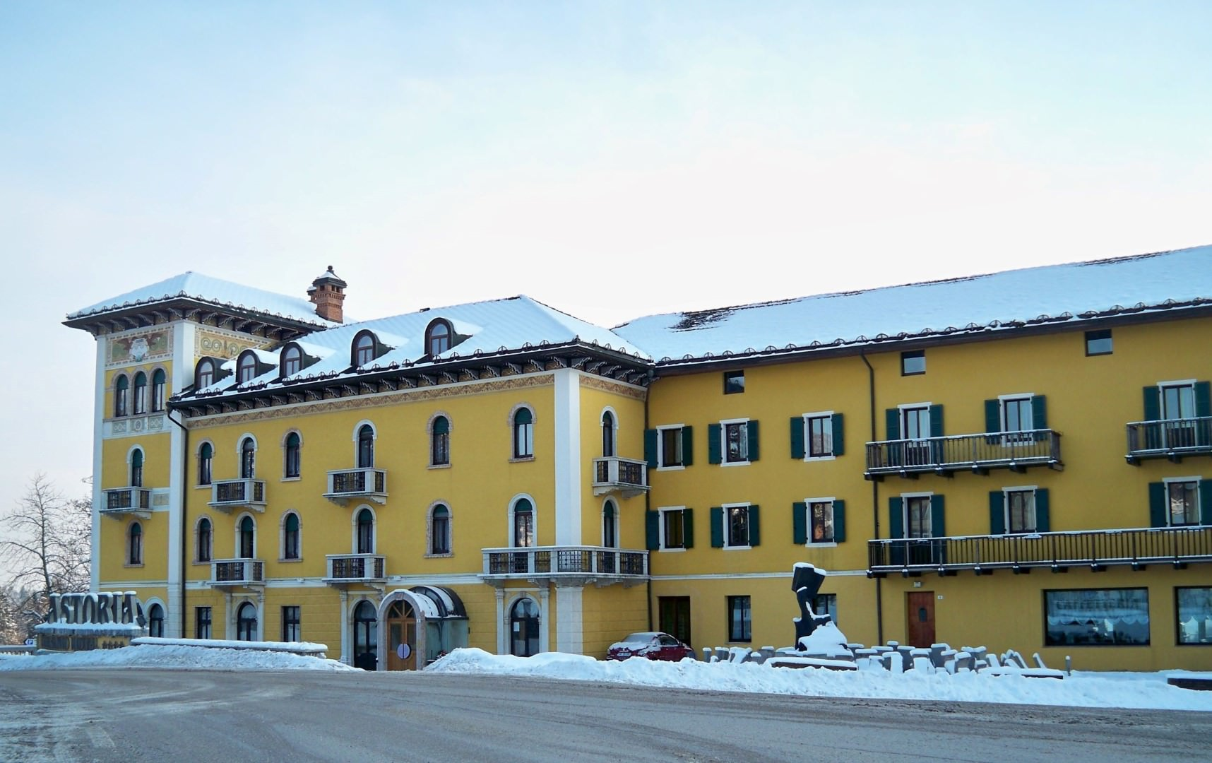 Grand Hotel Astoria in Folgaria, Grand Hotel Astoria / Italien