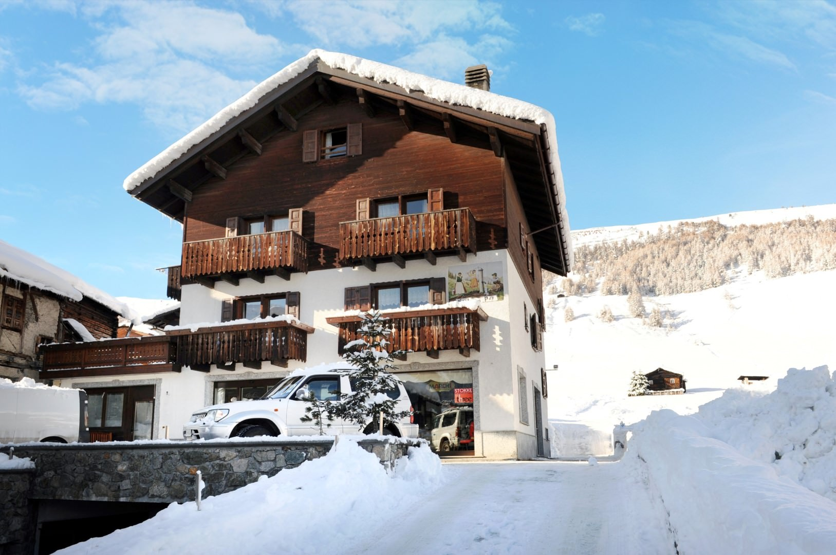Appartement Bait da Poz in Livigno, Appartement Bait da Poz / Italien