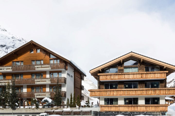 Hotel City in Zermatt, Hotel City / Schweiz
