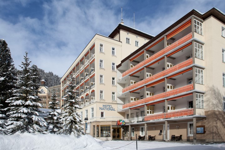 Hotel National in Davos, Hotel National / Schweiz