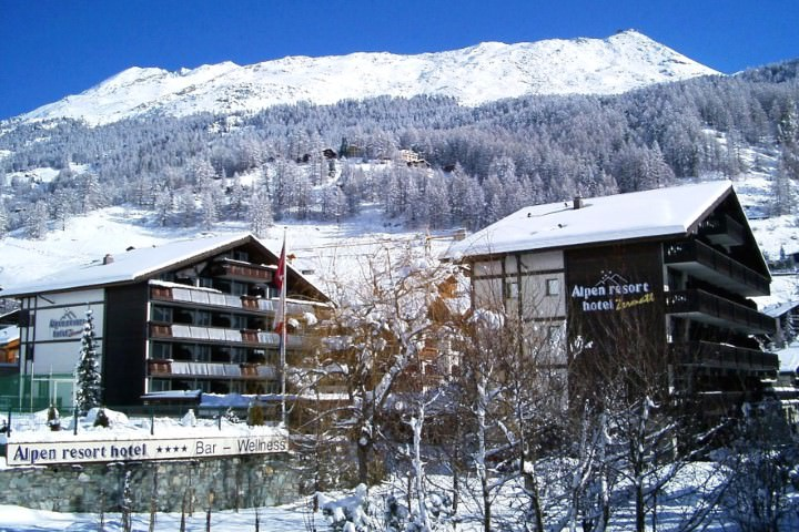 Hotel BEST WESTERN Alpen Resort in Zermatt, Hotel BEST WESTERN Alpen Resort / Schweiz