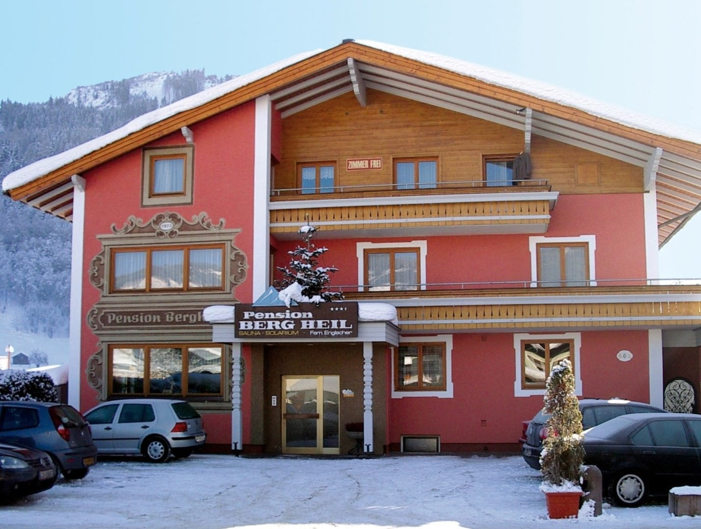 Pension Bergheil in Kaprun / Zell am See, Pension Bergheil / Österreich